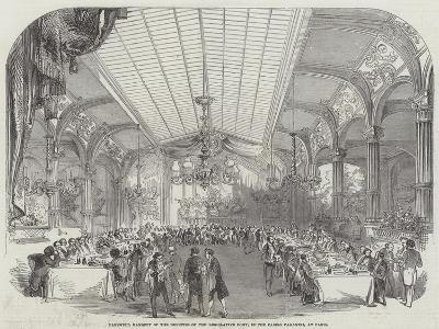 Farewell Banquet of the Deputies of the Legislative Body, in the Casino Paganini, at Paris