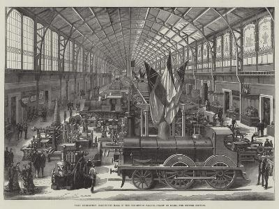 Paris Exhibition, Machinery Hall in the Exhibition Palace, Champ De Mars, the British Section