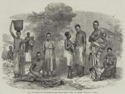 Men and Women of the Manganja and Ajawa Tribes, from the Zambesi Country, in Africa