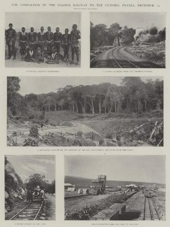 The Completion of the Uganda Railway to the Victoria Nyanza, 19 December