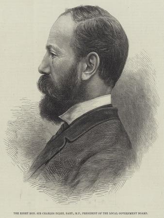 The Right Honourable Sir Charles Dilke, Baronet, Mp, President of the Local Government Board