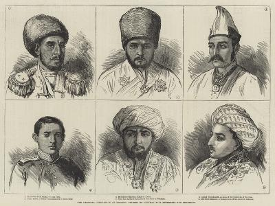 The Imperial Coronation at Moscow, Princes of Central Asia Attending the Ceremony