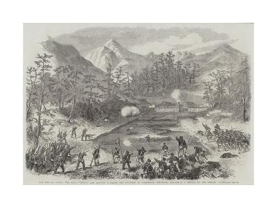 The War in Japan, the Naval Brigade and Marines Storming the Stockade at Simonosaki, 6 September