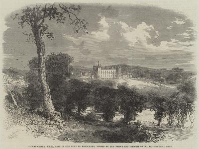 Floors Castle, Kelso, Seat of the Duke of Roxburghe, Visited by the Prince and Princess of Wales