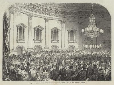 Grand Banquet to Lieutenant-General Sir Charles James Napier, Gcb, at the Rotunda, Dublin
