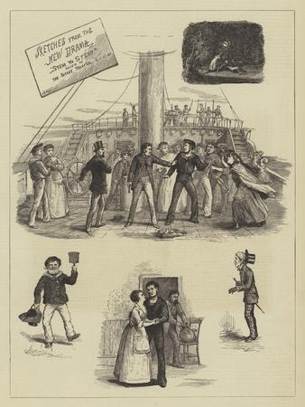 Sketches from the New Drama Stem to Stern Played at the Surrey Theatre, 16 April 1876