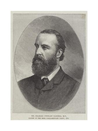 Mr Charles Stewart Parnell, Mp, Leader of the Irish Parliamentary Party, 1886