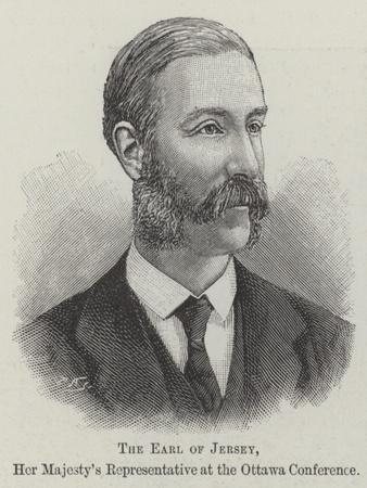 The Earl of Jersey, Her Majesty's Representative at the Ottawa Conference
