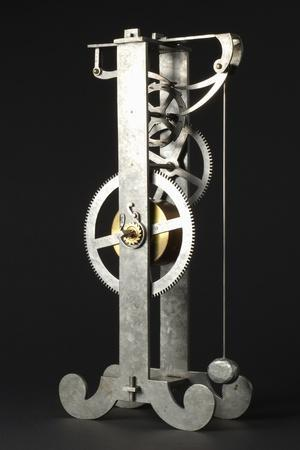 Replica of Galileo Galilei's Design for Pendulum Clock, Height 34 Cm, Depth 8 Cm, Width 16 Cm