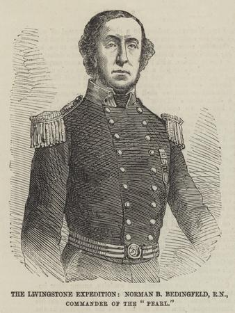 The Livingstone Expedition, Norman B Bedingfeld, Rn, Commander of the Pearl
