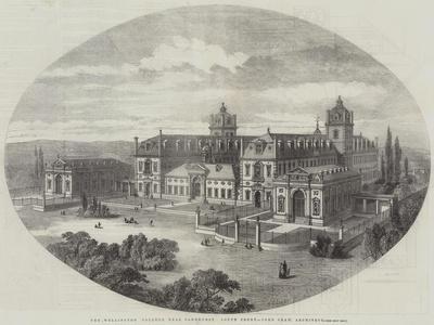 The Wellington College, Near Sandhurst, South Front, John Shaw, Architect