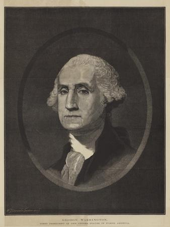 George Washington, First President of the United States of North America