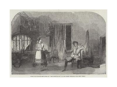 Scene from Balfe's New Opera of The Devil's in It, at the Surrey Theatre