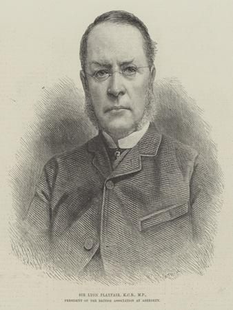 Sir Lyon Playfair, Kcb, Mp, President of the British Association at Aberdeen