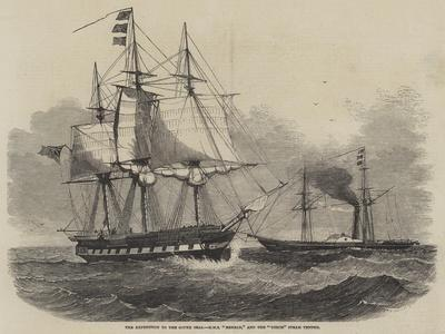 The Expedition to the South Seas, HMS Herald, and the Torch Steam Tender