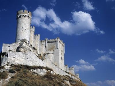 Penafiel Castle, Provincial Wine Museum, Castile and Leon, Spain, 10th-15th Century