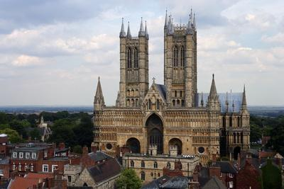 Lincoln Cathedral, Consecrated in 1092, English Gothic Style, Lincoln, Lincolnshire, United Kingdom