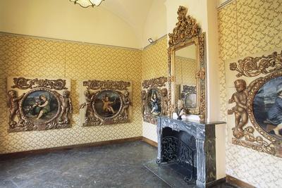 Room in Pavillon Vendome, 1665-1667, Aix-En-Provence, Provence-Alpes-Cote D'Azur, France