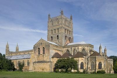 Tewkesbury Abbey (12th Century), Romanesque Style, Gloucestershire, United Kingdom