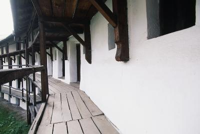 Walkway Inside Walls of Prejmer Fortified Church, 15th Century, Late Gothic Style, Romania