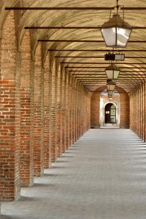 Porticos (Arcades), Sabbioneta (Unesco World Heritage List, 2008), Lombardy, Italy