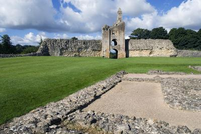 Ruins of the Old Castle (Built Between 1107-1135), Sherborne, Dorset, United Kingdom, Detail