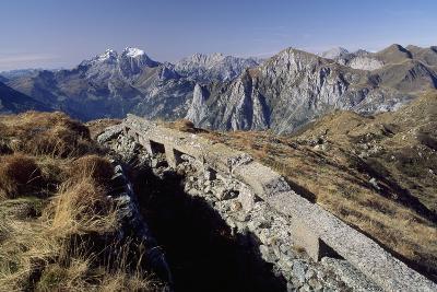 Military Stations of First World War Atop of Mount Paularo, Friuli-Venezia Giulia, Italy