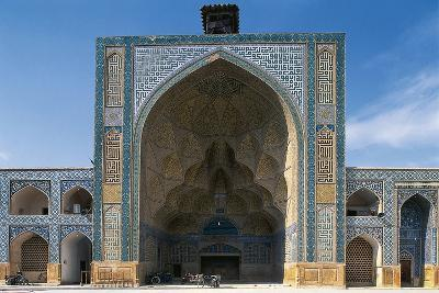 Courtyard of the Friday Mosque or Masjed-E Jame (Unesco World Heritage List, 2012), Isfahan, Iran