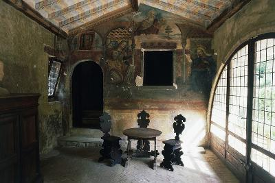 Interior of Leper Hospital Where Saint Rita of Cascia Worked, Roccaporena Cascia, Umbria, Italy