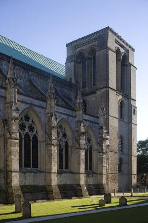 One of Two Northern Towers of Chichester Cathedral (681-1108), West Sussex, United Kingdom