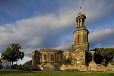 St Chad's Church, Circular Georgian Building, 1792, Shrewsbury, Shropshire, United Kingdom