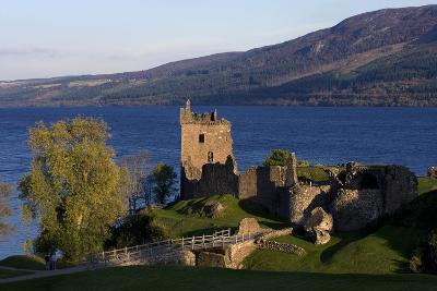 Ruins of Urquhart Castle (13th-16th Century), Loch Ness, Highlands, Scotland, United Kingdom