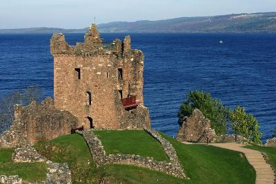 Ruins of Urquhart Castle (13th-16th Century), Loch Ness, Highlands, Scotland, United Kingdom