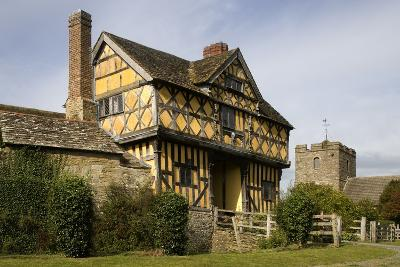 Stokesay Castle, Example of 13th Century Fortified Manor, Ludlow, Shropshire, United Kingdom