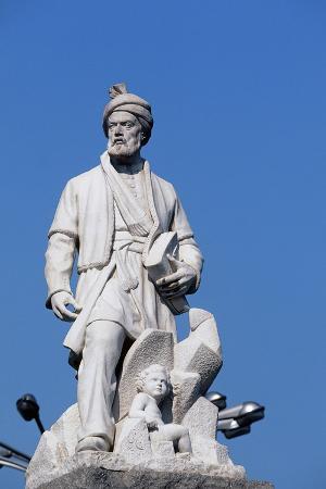 Monument to the Persian Poet Ferdowsi or Firdowsi (935-1025), Ferdowsi Square, Teheran, Iran