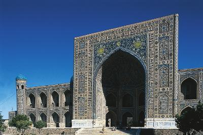 Tilla Kari Madrasa, 17th Century, Samarkand (Unesco World Heritage List, 2001), Uzbekistan