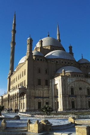 Great Mosque of Muhammad Ali Pasha or Alabaster Mosque, 19th Century, Cairo Citadel, Egypt