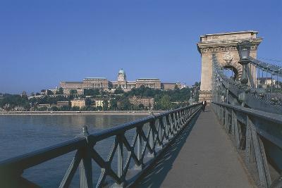 Chain Bridge, 1849, over Danube, Budapest (Unesco World Heritage List, 1987), Hungary