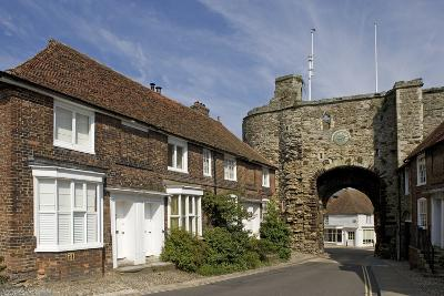 Landgate (1329), Last Remaining of Four Access Gates to City of Rye, East Sussex, United Kingdom