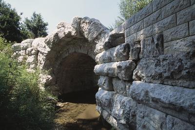 St John's Bridge, 1st Century, Fossato Di Vico, Natural Park of Monte Cucco, Umbria, Italy