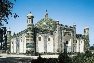 Afaq Khoja Mausoleum (Died 1693 or 1694), 17th Century, Kasghar, Xinjiang, China