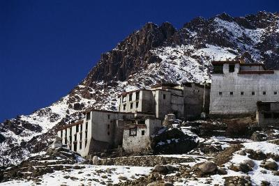 Buddhist Monastery of Likir, Founded in 1065, Ladakh, Jammu and Kashmir, India