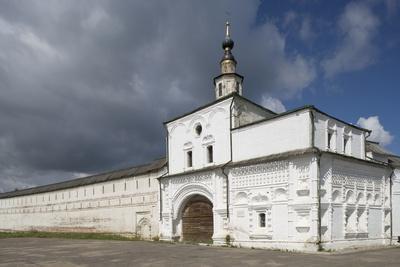 The Walls of Goritsky Monastery, 17th-18th Century, Pereslavl-Zalessky, Russia