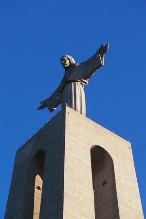 Christ King Statue, 1959, by Francisco Franco De Sousa, Almada, Portugal
