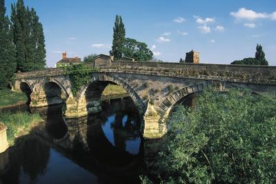 Atcham Bridge, 1774, Bridge over River Severn, Atcham, England, United Kingdom