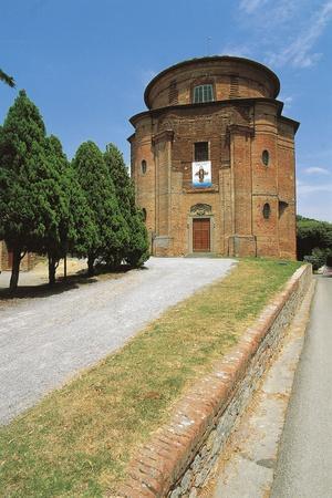 Facade of a Church, Church of St. Lucy, Citta Della Pieve, Umbria, Italy