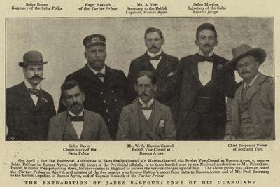 The Extradition of Jabez Balfour, Some of His Guardians