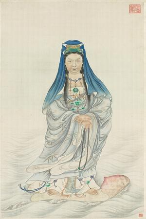 Portrait of Empress Dowager Cixi as Guanyin
