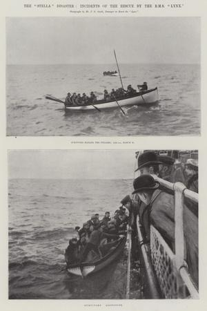 The Stella Disaster, Incidents of the Rescue by the Rms Lynx