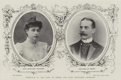 Marriage of the Earl of Crewe and Lady Margaret Primrose